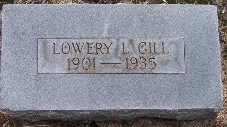 GILL, LOWERY LOUIS - Jefferson Davis County, Louisiana | LOWERY LOUIS GILL - Louisiana Gravestone Photos