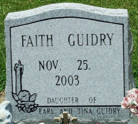 GUIDRY, FAITH - Jefferson Davis County, Louisiana | FAITH GUIDRY - Louisiana Gravestone Photos
