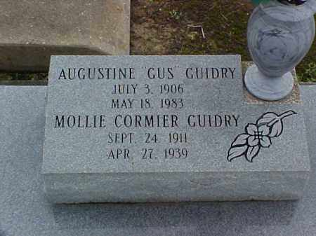 "GUIDRY, AUGUSTINE ""GUS"" - Jefferson Davis County, Louisiana | AUGUSTINE ""GUS"" GUIDRY - Louisiana Gravestone Photos"
