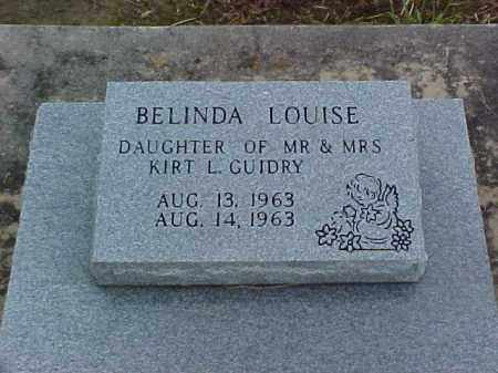 GUIDRY, BELINDA LOUISA - Jefferson Davis County, Louisiana | BELINDA LOUISA GUIDRY - Louisiana Gravestone Photos
