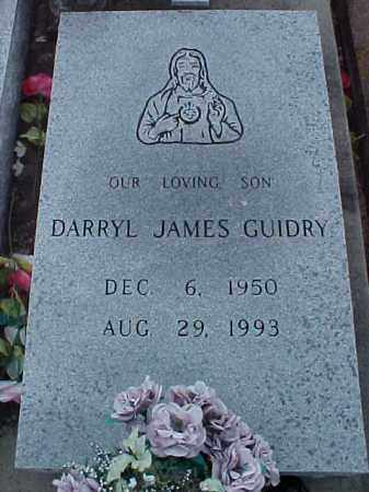 GUIDRY, DARRYL JAMES - Jefferson Davis County, Louisiana   DARRYL JAMES GUIDRY - Louisiana Gravestone Photos