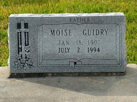 GUIDRY, MOISE - Jefferson Davis County, Louisiana | MOISE GUIDRY - Louisiana Gravestone Photos