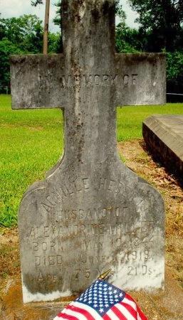 HEBERT, ACHILLE (VETERAN CSA) - Jefferson Davis County, Louisiana | ACHILLE (VETERAN CSA) HEBERT - Louisiana Gravestone Photos