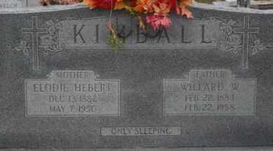KIMBALL, ELODIE - Jefferson Davis County, Louisiana | ELODIE KIMBALL - Louisiana Gravestone Photos