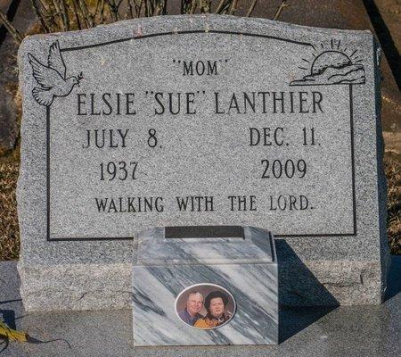 MYERS LANTHIER, ELSIE MARIE - Jefferson Davis County, Louisiana | ELSIE MARIE MYERS LANTHIER - Louisiana Gravestone Photos