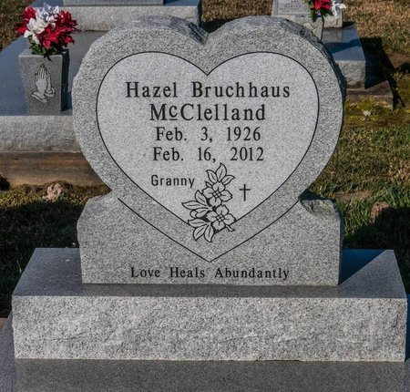 MCCLELLAND, HAZEL - Jefferson Davis County, Louisiana | HAZEL MCCLELLAND - Louisiana Gravestone Photos