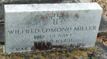MILLER   , WILFRED EDMOND  (VETERAN WWII) - Jefferson Davis County, Louisiana | WILFRED EDMOND  (VETERAN WWII) MILLER    - Louisiana Gravestone Photos