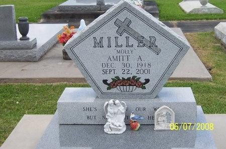 MILLER, AMITT  (MOLLY) - Jefferson Davis County, Louisiana | AMITT  (MOLLY) MILLER - Louisiana Gravestone Photos