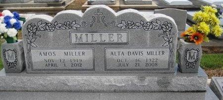 MILLER, AMOS - Jefferson Davis County, Louisiana   AMOS MILLER - Louisiana Gravestone Photos