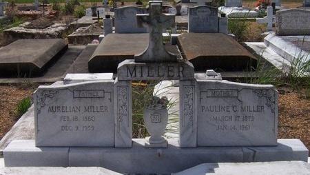 MILLER, AURELIAN - Jefferson Davis County, Louisiana | AURELIAN MILLER - Louisiana Gravestone Photos