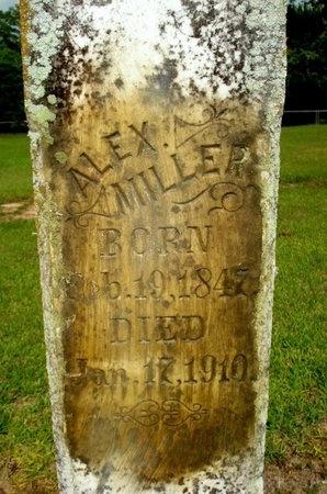 """MILLER, ALEXANDRE  """"BOOT"""" ( CLOSEUP) - Jefferson Davis County, Louisiana   ALEXANDRE  """"BOOT"""" ( CLOSEUP) MILLER - Louisiana Gravestone Photos"""