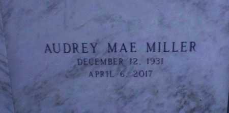 MILLER, AUDREY MAE - Jefferson Davis County, Louisiana   AUDREY MAE MILLER - Louisiana Gravestone Photos