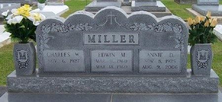 MILLER, ANNIE - Jefferson Davis County, Louisiana | ANNIE MILLER - Louisiana Gravestone Photos