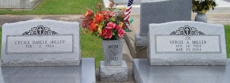 MILLER, CECILE - Jefferson Davis County, Louisiana | CECILE MILLER - Louisiana Gravestone Photos
