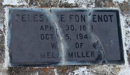 MILLER, CELESTINE - Jefferson Davis County, Louisiana | CELESTINE MILLER - Louisiana Gravestone Photos