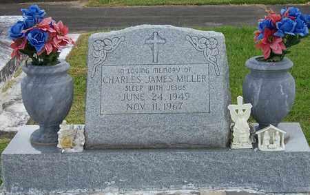 MILLER, CHARLES JAMES - Jefferson Davis County, Louisiana | CHARLES JAMES MILLER - Louisiana Gravestone Photos