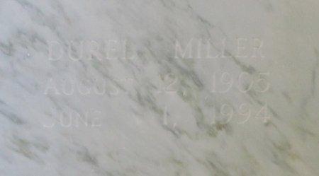 MILLER, DUREL - Jefferson Davis County, Louisiana | DUREL MILLER - Louisiana Gravestone Photos
