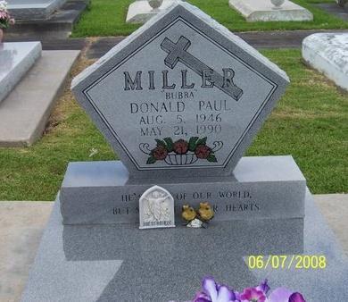 "MILLER, DONALD PAUL ""BUBBA"" - Jefferson Davis County, Louisiana   DONALD PAUL ""BUBBA"" MILLER - Louisiana Gravestone Photos"