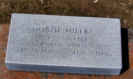 MILLER, DORISE  (VETERAN WWI) - Jefferson Davis County, Louisiana | DORISE  (VETERAN WWI) MILLER - Louisiana Gravestone Photos
