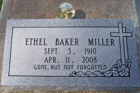 MILLER, ETHEL - Jefferson Davis County, Louisiana   ETHEL MILLER - Louisiana Gravestone Photos