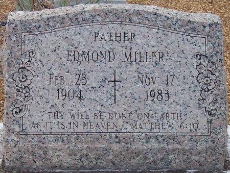 MILLER, EDMOND - Jefferson Davis County, Louisiana   EDMOND MILLER - Louisiana Gravestone Photos