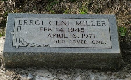 MILLER, ERROL GENE - Jefferson Davis County, Louisiana | ERROL GENE MILLER - Louisiana Gravestone Photos