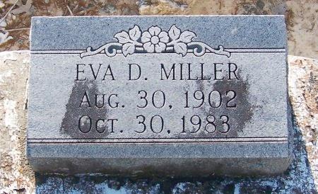 MILLER, EVA - Jefferson Davis County, Louisiana | EVA MILLER - Louisiana Gravestone Photos
