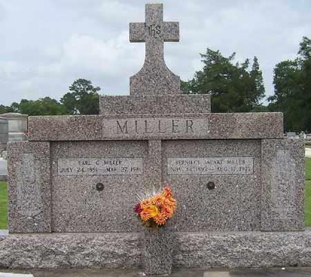 MILLER, EARL C - Jefferson Davis County, Louisiana   EARL C MILLER - Louisiana Gravestone Photos