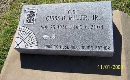 "MILLER, GIBBS DENNIS, JR ""G D"" - Jefferson Davis County, Louisiana | GIBBS DENNIS, JR ""G D"" MILLER - Louisiana Gravestone Photos"