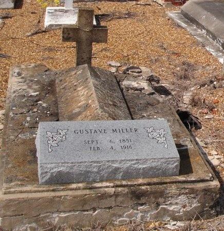 MILLER, GUSTAVE - Jefferson Davis County, Louisiana | GUSTAVE MILLER - Louisiana Gravestone Photos