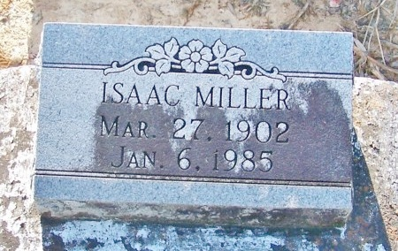 MILLER, ISAAC - Jefferson Davis County, Louisiana | ISAAC MILLER - Louisiana Gravestone Photos