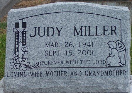 MILLER, JUDY - Jefferson Davis County, Louisiana   JUDY MILLER - Louisiana Gravestone Photos