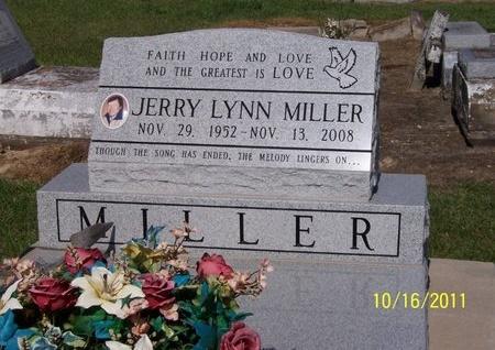 MILLER, JERRY LYNN - Jefferson Davis County, Louisiana   JERRY LYNN MILLER - Louisiana Gravestone Photos