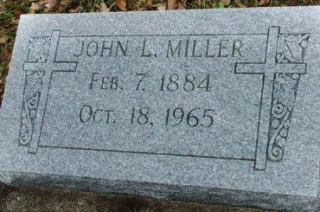 MILLER, JOHN L - Jefferson Davis County, Louisiana | JOHN L MILLER - Louisiana Gravestone Photos