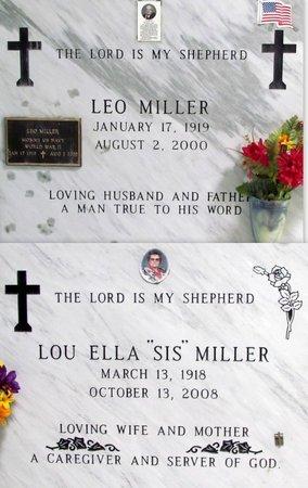 MILLER, LOU ELLA - Jefferson Davis County, Louisiana   LOU ELLA MILLER - Louisiana Gravestone Photos