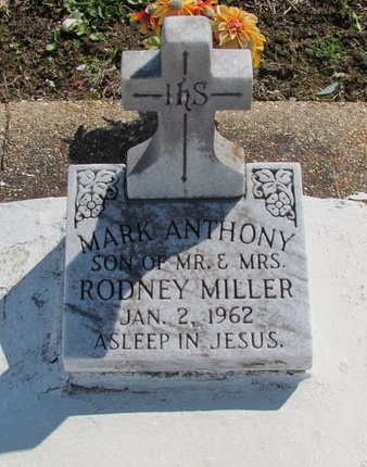MILLER, MARK ANTHONY - Jefferson Davis County, Louisiana   MARK ANTHONY MILLER - Louisiana Gravestone Photos