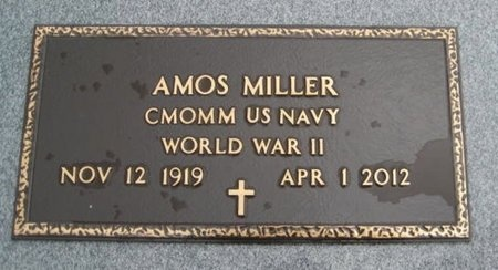 MILLER, AMOS (VETERAN WWII) - Jefferson Davis County, Louisiana   AMOS (VETERAN WWII) MILLER - Louisiana Gravestone Photos