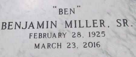 "MILLER, BENJAMIN, SR ""BEN"" (VETERAN 2 WARS) - Jefferson Davis County, Louisiana | BENJAMIN, SR ""BEN"" (VETERAN 2 WARS) MILLER - Louisiana Gravestone Photos"
