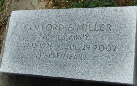 MILLER , CLIFFORD P  (VETERAN WWII) - Jefferson Davis County, Louisiana | CLIFFORD P  (VETERAN WWII) MILLER  - Louisiana Gravestone Photos