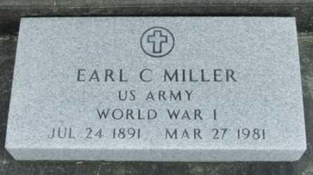 MILLER, EARL C  (VETERAN WWI) - Jefferson Davis County, Louisiana | EARL C  (VETERAN WWI) MILLER - Louisiana Gravestone Photos