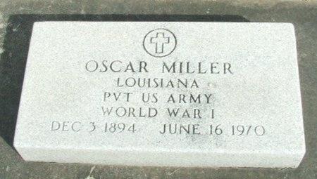 MILLER, OSCAR  (VETERAN WWI) - Jefferson Davis County, Louisiana | OSCAR  (VETERAN WWI) MILLER - Louisiana Gravestone Photos