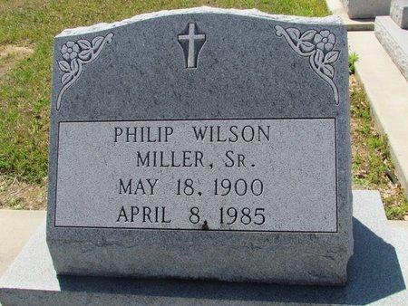 MILLER, PHILIP WILSON, SR - Jefferson Davis County, Louisiana   PHILIP WILSON, SR MILLER - Louisiana Gravestone Photos
