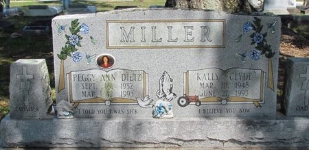 MILLER, KALLY CLYDE - Jefferson Davis County, Louisiana | KALLY CLYDE MILLER - Louisiana Gravestone Photos