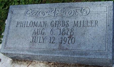 MILLER, PHILOMAN - Jefferson Davis County, Louisiana | PHILOMAN MILLER - Louisiana Gravestone Photos