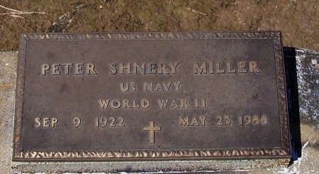 MILLER, PETER SHNERY  (VETERAN WWII) - Jefferson Davis County, Louisiana   PETER SHNERY  (VETERAN WWII) MILLER - Louisiana Gravestone Photos