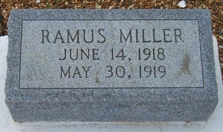 MILLER, RAMUS - Jefferson Davis County, Louisiana | RAMUS MILLER - Louisiana Gravestone Photos