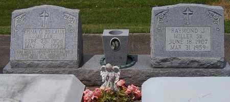 MILLER, EDNA - Jefferson Davis County, Louisiana   EDNA MILLER - Louisiana Gravestone Photos