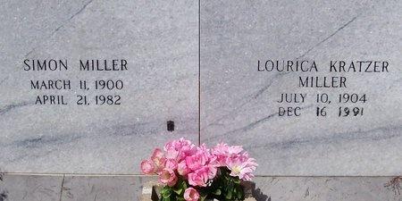 MILLER, LOURICA - Jefferson Davis County, Louisiana | LOURICA MILLER - Louisiana Gravestone Photos
