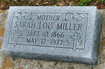 MILLER, SARAH LOU - Jefferson Davis County, Louisiana | SARAH LOU MILLER - Louisiana Gravestone Photos