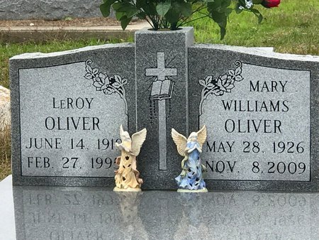 WILLIAMS OLIVER, MARY - Jefferson Davis County, Louisiana | MARY WILLIAMS OLIVER - Louisiana Gravestone Photos